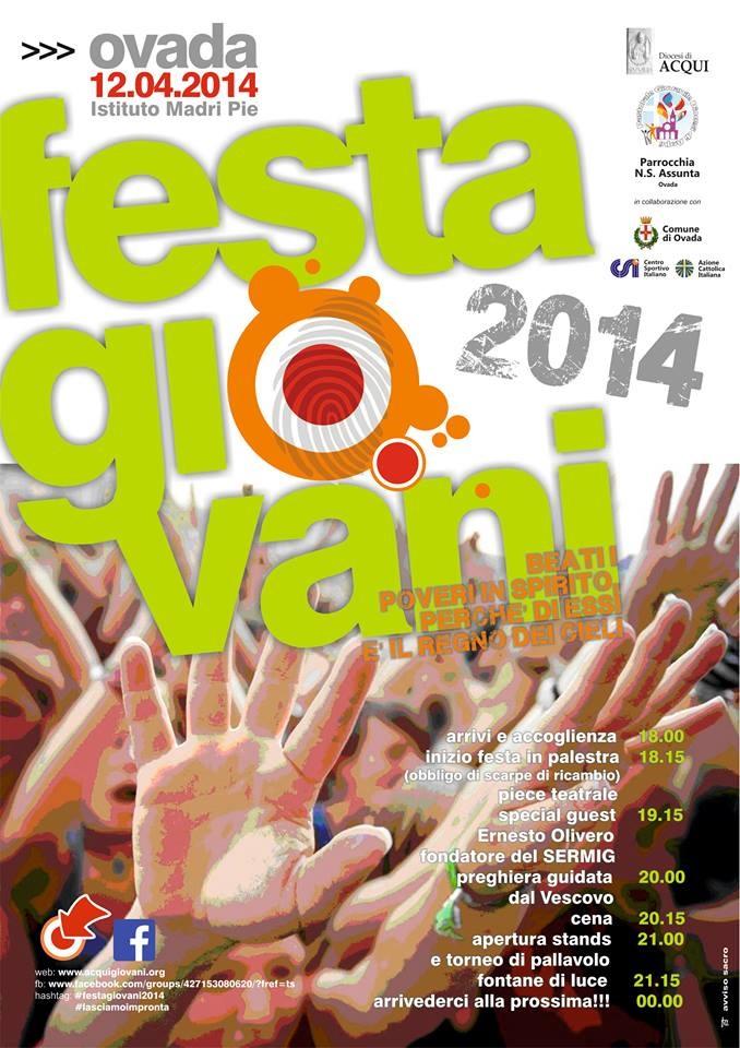 Diocesi di Acqui Terme - Festa Giovani 2014 - Ovada (Oratorio Borgallegro)